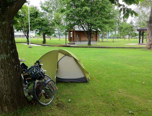 ひとりぼっちの秩父別町ファミリースポーツ公園キャンプ場